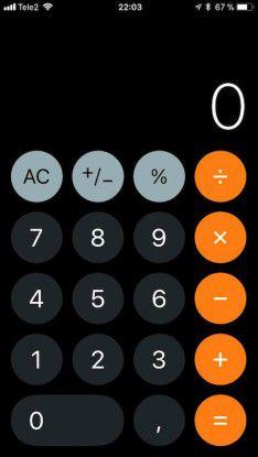 Neu: Der Taschenrechner samt Icon ist komplett neu gestaltet.