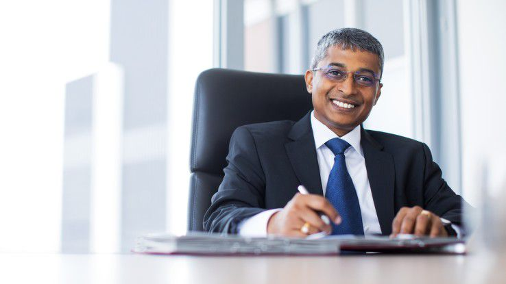 Sapthagiri Chapalapalli (Saptha), Vice President und Managing Director Central Europe bei Tata Consultancy Services.