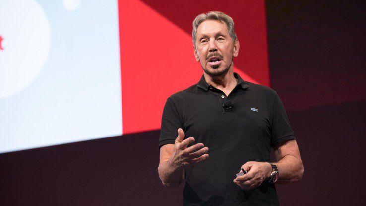 Wir tun alles, was wir können, um menschliche Eingriffe so weit wie möglich zu verhindern, beschrieb Oracle-Gründer Larry Ellison die Maßgabe für die kommende Datenbankversion 18c.