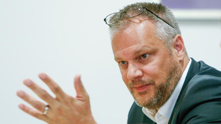 """""""Dem Facility Management können sie nicht mit ,Change' kommen"""", argumentiert Michael Kraft, Geschäftsführer von Topdesk."""