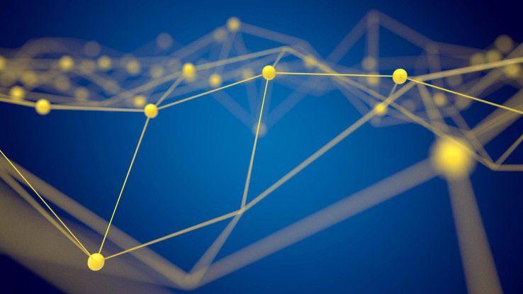 Das Peer-to-peer-Prinzip ist Vorteil und Nachteil zugleich. Die Blockchain-Technologie wird dadurch anfällig für DNS-Attacken.