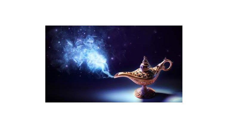 Seien Sie der Dschin in Aladins Wunderlampe und erfüllen Sie Ihren Kunden ihre Wünsche.