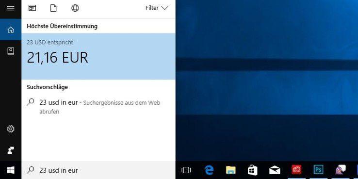 Windows 10: Das leistet die Suchfunktion