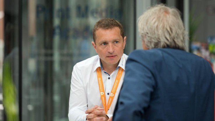 Wir haben Arndt Lingscheid vom Heidelberger Security-Anbieter Virtual Forge zu einem Kundentermin in einer Frankfurter Bank begleitet.