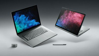 Test: Microsoft Surface Book 2 - Foto: Microsoft