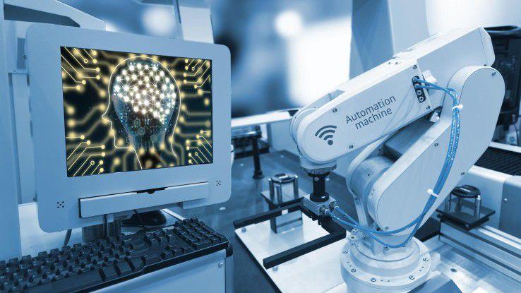 Kognitive Systeme wie eine automatische Qualitätssicherung per Bildanalyse sichern die Produktion in der Smart Factory.