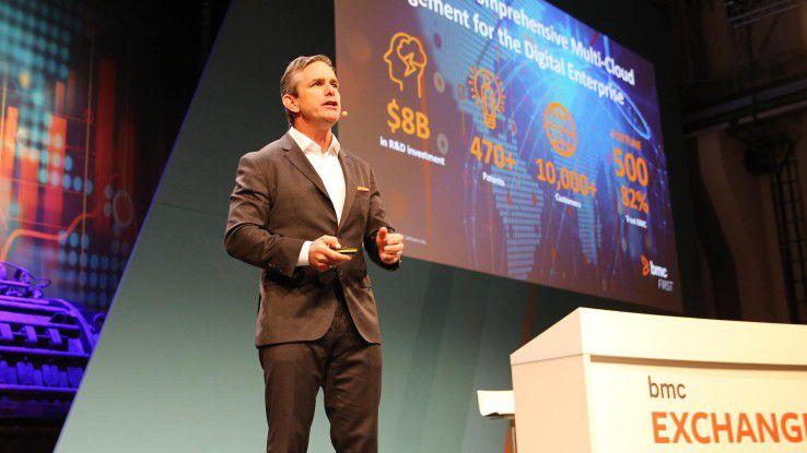Dan Streetman, Executive Vice President Vertrieb und Marketing bei BMC, hält Geschwindigkeit für die größte Herausforderung, der Unternehmen derzeit ausgesetzt sind.
