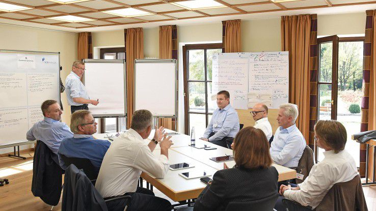 beyond heißt: Harte, inhaltliche Arbeit in Kleingruppen.