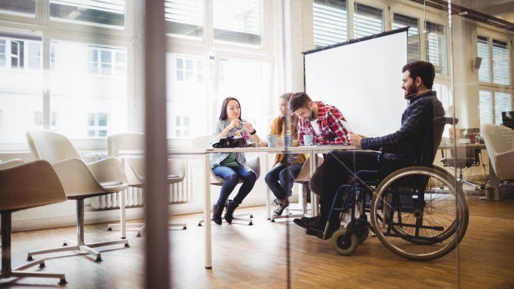 Die akquinet AG versteht Inklusion ganzheitlich und hat zu diesem Zweck die Stelle der Integrationsbeauftragten geschaffen, die die Interessen der Mitarbeiter mit Behinderung vertreten soll.