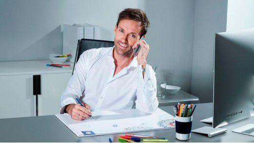 """Der sportlich ambitionierte Unternehmensberater Sven Hannawald plädiert für aktive Erholung: """"Wenn ich etwas gemacht habe, ziehe ich mich zurück und mache Pause."""""""