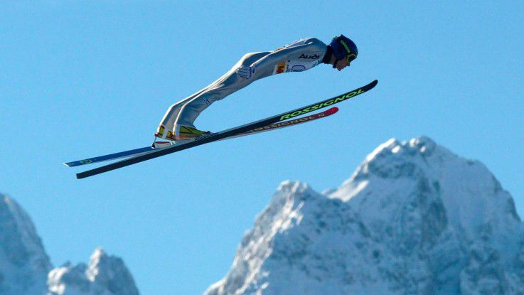 Hoch hinaus: Sven Hannawald ist einer der erfolgreichsten Sportler Deutschlands- und erkrankte an Burnout.