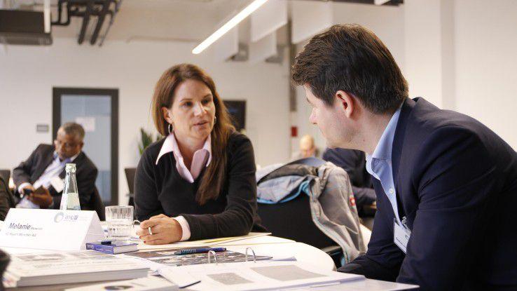 Das Seminar soll den Teilnehmern vor allem auch zur Vernetzung untereinander dienen.