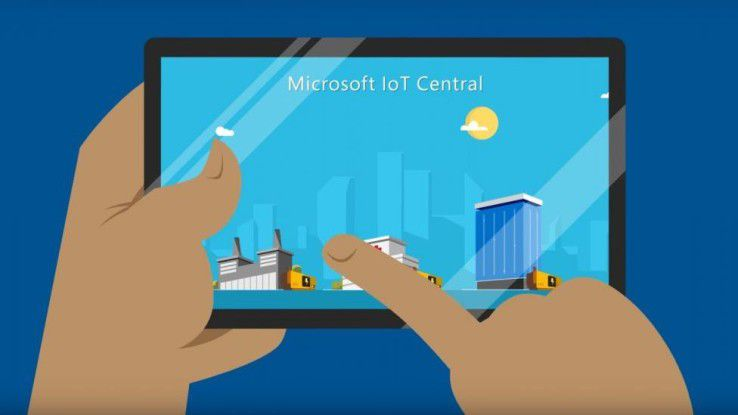Microsoft will mit der SaaS-Lösung IoT Central Unternehmen den Einstieg in das Internet der Dinge erleichtern.