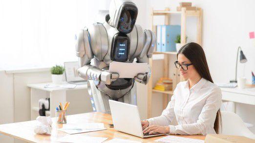 Künstliche Intelligenz könnte Ihnen schon bald das Büro- und Arbeitsleben versüßen. Wir sagen Ihnen wie.