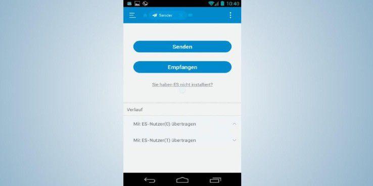 Über den ES Datei Explorer lassen sich unter Android die Freigaben eines Windows-Rechners in Ihrem Netzwerk einblenden.