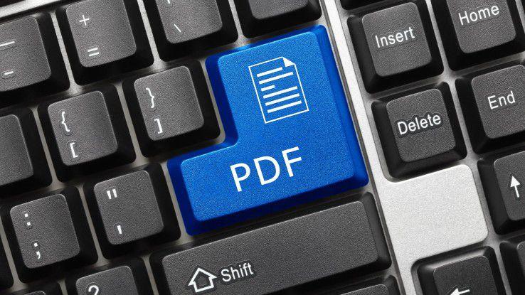 PDF auf Knopfdruck? Wir zeigen Ihnen die besten PDF-Reader u8nd -Converter.