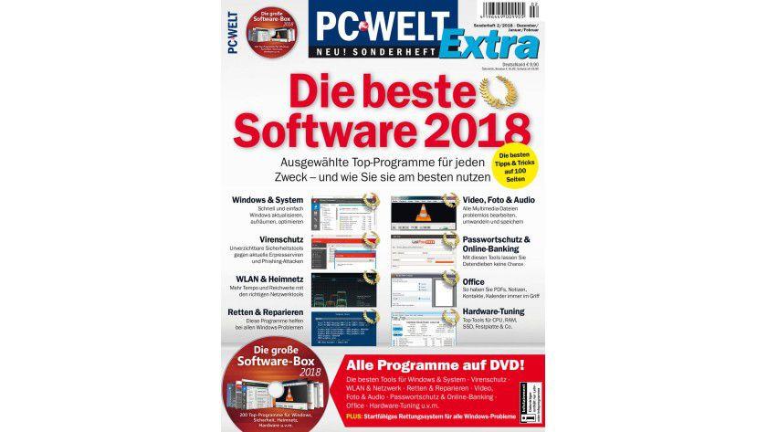 PC-WELT Extra: Die beste Software 2018