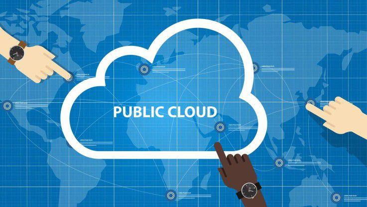 Marktforscher von IDC und Forrester rechnen mit einem anhaltenden Boom im Public-Cloud-Markt.