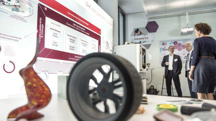 Im Innovation Lab von Capgemini tüfteln Kunden, Dienstleister und Kreative gemeinsam an neuen Produkten.