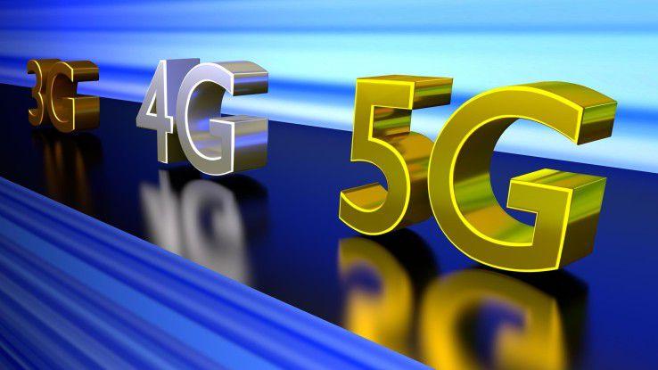 3G, 4G und 5G im Geschwindigkeitsvergleich