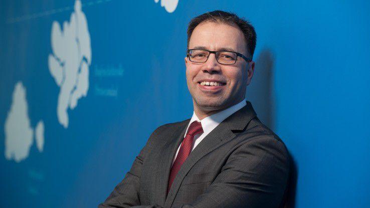 """""""Sicherheit und Datenschutz spielen im deutschen Cloud-Markt eine zentrale Rolle"""", sagt Yasser Eissa, Vice President IBM Watson & Cloud Platform, Europe."""