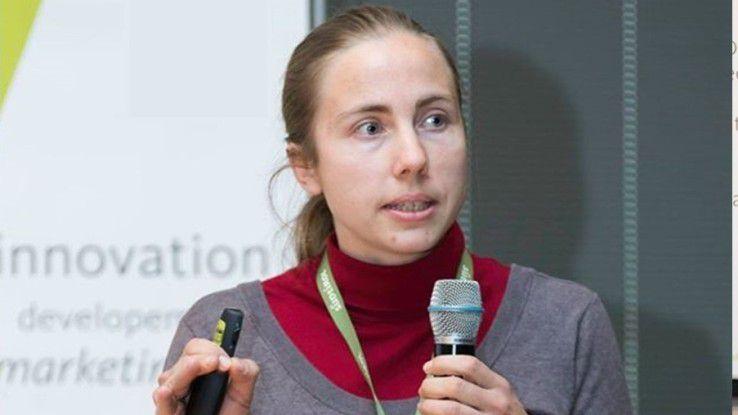 Susanne Greiner, Data Scientist beim Software-Dienstleister Würth Phoenix im Bereich Performance Monitoring und User Experience.