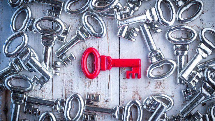 Vertrauen in die maschinellen Identitäten kann es nur geben, wenn jeder Schlüssel einmal zugeteilt wurde.
