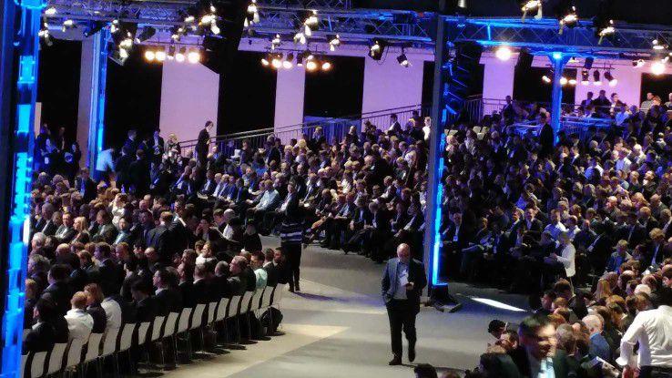 Rund 4000 Besucher diskutierten auf der IoT-Konferenz Bosch ConnectedWorld über die Mobilität der Zukunft.