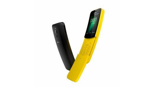 Blick zurück nach vorn: Mit dem Nokia 8110 will HMD Global weiter auf der Retrowelle reiten.