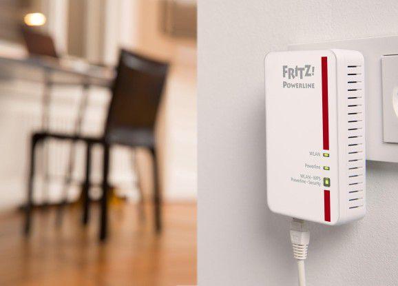 Um Fehlerquellen zu minimieren, sollten Sie Powerline-Adapter immer direkt an der Wandsteckdose anschließen.
