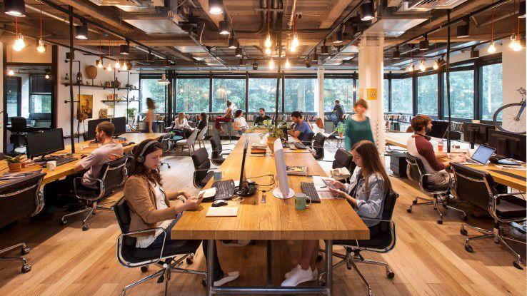 Coworking-Spaces in der Praxis: Bei Mindspace hat der Arbeitsplatz keine räumlichen Grenzen.