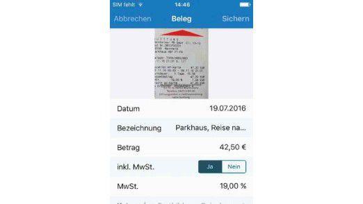 Die mobile App zur Steuer-Spar-Erklärung von der Akademischen Arbeitsgemeinschaft.