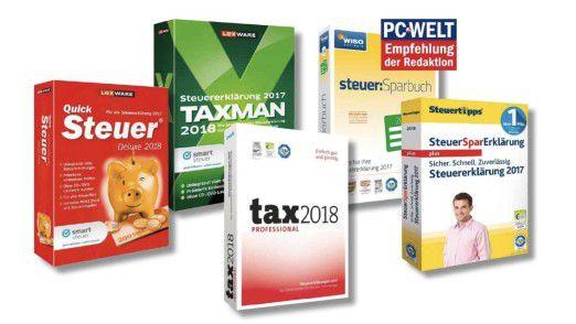 Die beste Steuer-Software im Vergleich.