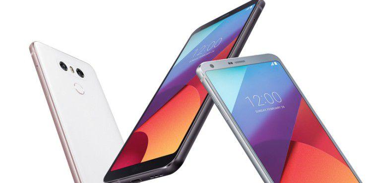 LG G6 mit Fullvision-Display