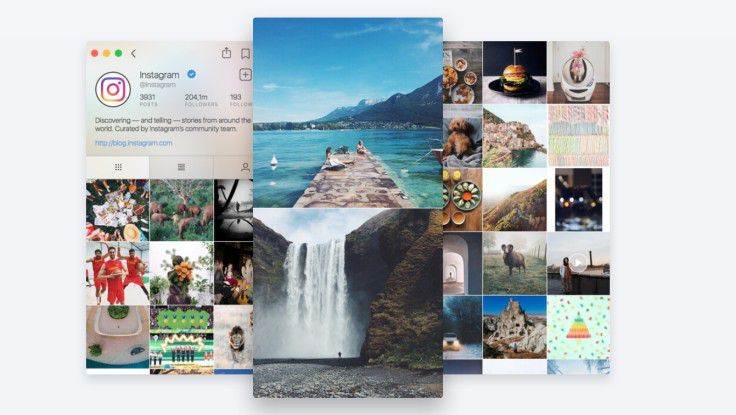 Fume hilft beim Upload von Fotos bei Instagram.