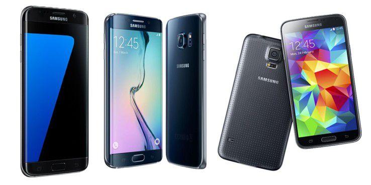 Samsung-Handys wie S5, S6 und S7 günstig kaufen