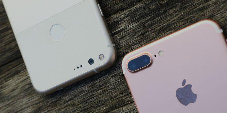 Das iPhone 7 Plus musste nur selten repariert werden.