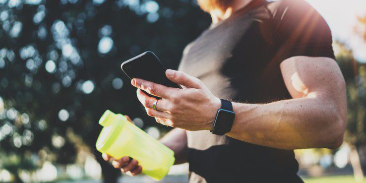 Kalorienverbrauch mit dem Fitness-Tracker