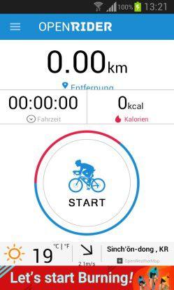 Openrider - GPS Radfahren