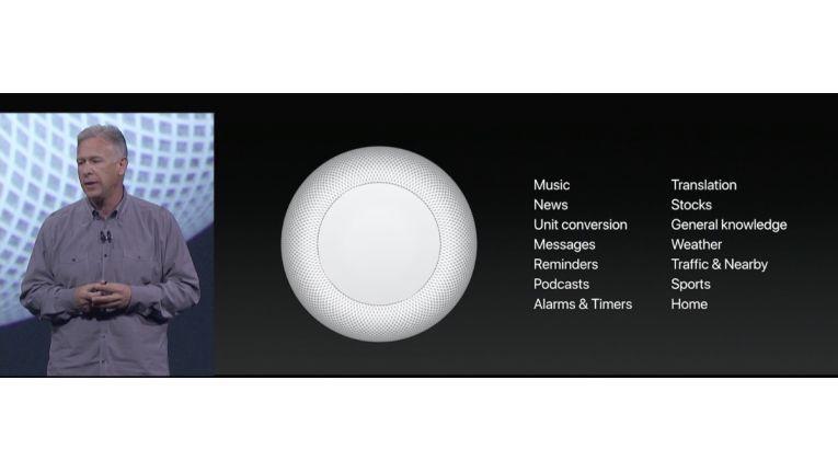 Was Homepod mit Siri kann.