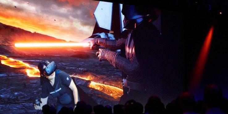 Industrial Light & Magic zeigt VR am Mac.
