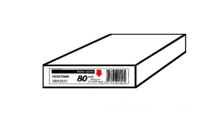 Der Pfeil auf Papierverpackungen zeigt an, welche Seite zuerst bedruckt werden soll. Er ist besonders für die interne Verarbeitung im Drucker für den doppelseitigen Druck von Bedeutung.
