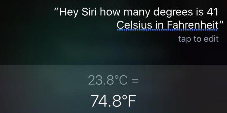 Siris Antworten erfüllen nicht immer unsere Erwartungen.