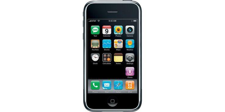 Das originale iPhone