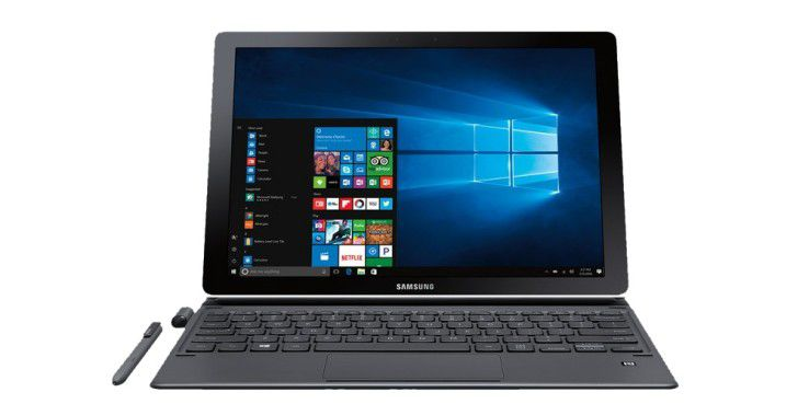 2in1-Gerät mit Windows 10 Pro: Samsung Galaxy Book 12