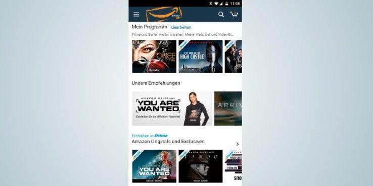 """Mit einem Amazon-Prime-Video- Abo können Sie auf zahlreiche aktuelle Serien und Filme zugreifen. Darunter zum Beispiel """"The Man in the High Castle""""."""