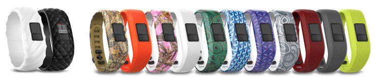 Armbänder in verschiedenen Farben sorgen dafür, das für jeden was Passendes dabei ist.