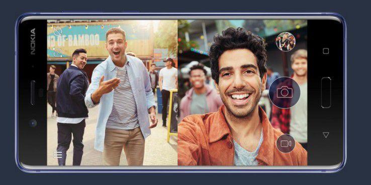 Nokia 8: Top-Androide mit Dual-Sight-Fotos für 600 Euro.