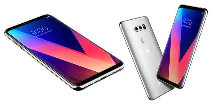 Das LG V30 verzichtet auf den zweiten Bildschirm des Vorgängers.