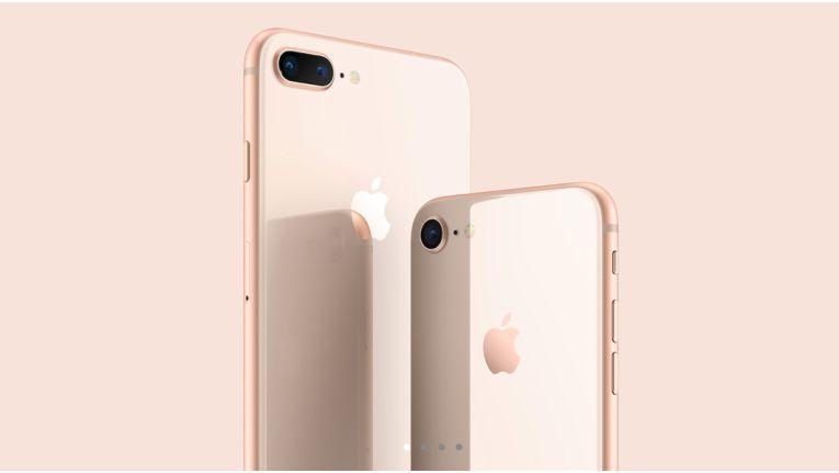 Das neue iPhone 8 bietet ein besonderes Glas-Finish.